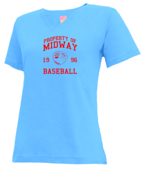 Midway High School V-neck Shirts
