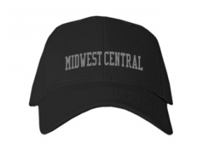 Midwest Central High School Kid Embroidered Baseball Caps