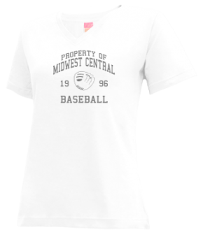 Midwest Central High School V-neck Shirts