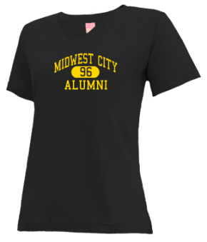 Midwest City High School V-neck Shirts