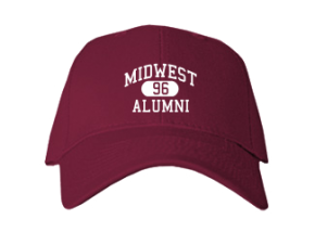 Midwest School Embroidered Baseball Caps