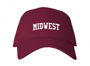Midwest School Kid Embroidered Baseball Caps