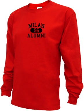 Milan High School Long Sleeve Shirts