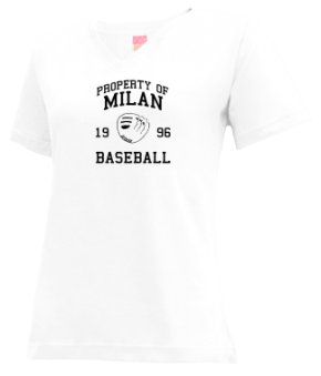 Milan High School V-neck Shirts