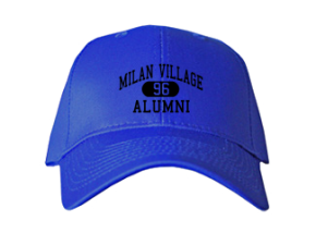 Milan Village Elementary School Embroidered Baseball Caps
