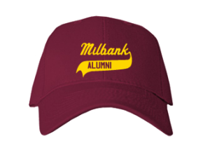 Milbank Middle School Embroidered Baseball Caps