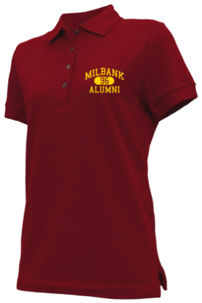 Milbank Middle School Embroidered Polo Shirts