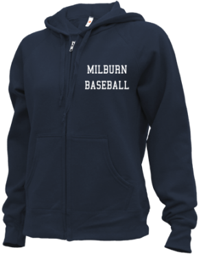 Milburn High School Zip-up Hoodies