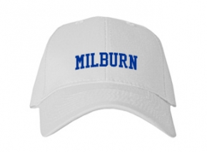 Milburn High School Kid Embroidered Baseball Caps