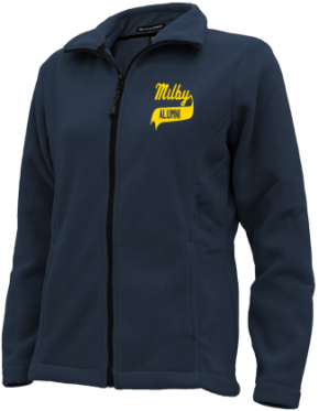 Milby High School Embroidered Fleece Jackets
