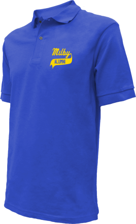 Milby High School Embroidered Polo Shirts