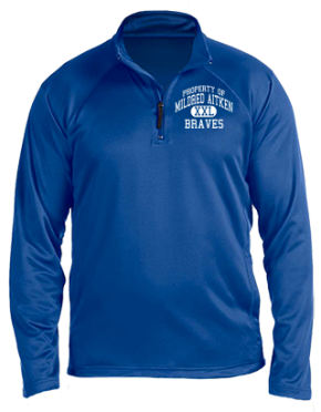 Mildred Aitken Elementary School Stretch Tech-Shell Compass Quarter Zip