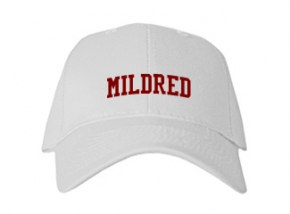 Mildred High School Kid Embroidered Baseball Caps
