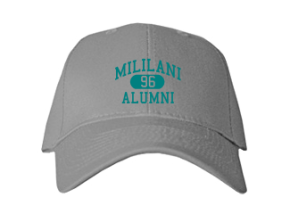 Mililani Middle School Embroidered Baseball Caps