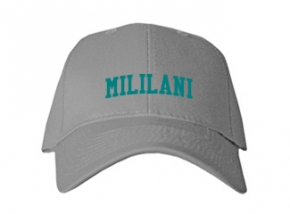 Mililani Middle School Kid Embroidered Baseball Caps