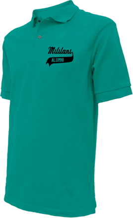 Mililani Middle School Embroidered Polo Shirts