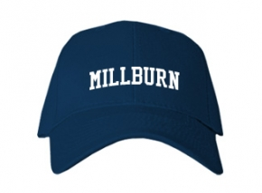 Millburn High School Kid Embroidered Baseball Caps
