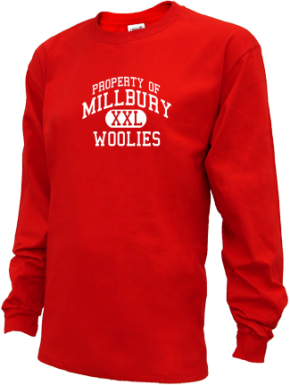 Millbury High School Kid Long Sleeve Shirts