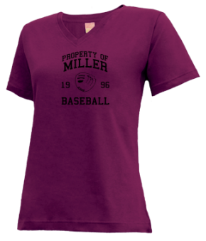 Miller High School V-neck Shirts