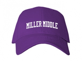 Miller Middle School Kid Embroidered Baseball Caps