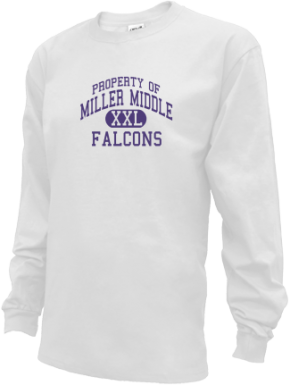 Miller Middle School Kid Long Sleeve Shirts