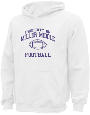 Miller Middle School Kid Hooded Sweatshirts