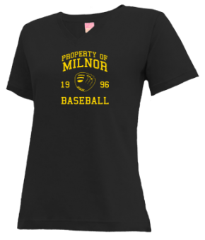 Milnor High School V-neck Shirts