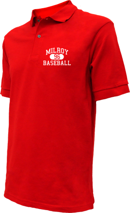 Milroy High School Embroidered Polo Shirts