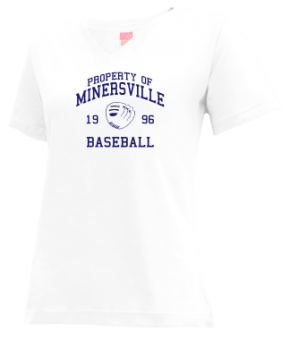 Minersville High School V-neck Shirts