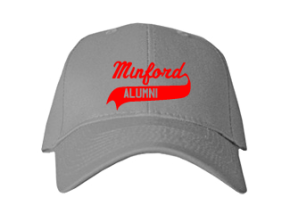 Minford Elementary School Embroidered Baseball Caps