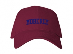 Moberly High School Kid Embroidered Baseball Caps