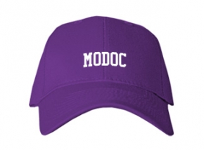 Modoc High School Kid Embroidered Baseball Caps