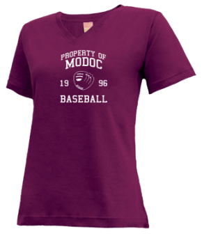 Modoc High School V-neck Shirts