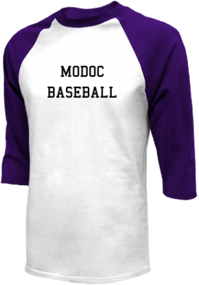 Modoc High School Raglan Shirts