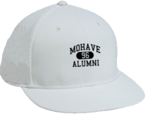 Mohave Middle School Flat Visor Caps