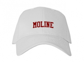 Moline High School Kid Embroidered Baseball Caps