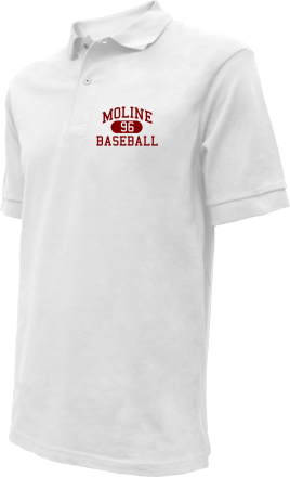 Moline High School Embroidered Polo Shirts