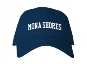 Mona Shores High School Kid Embroidered Baseball Caps
