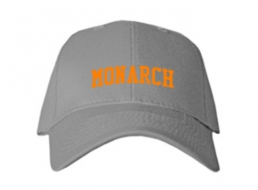 Monarch High School Kid Embroidered Baseball Caps