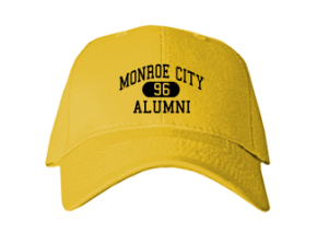 Monroe City High School Embroidered Baseball Caps