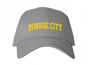 Monroe City High School Kid Embroidered Baseball Caps
