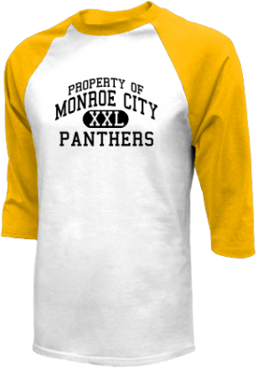 Monroe City High School Raglan Shirts
