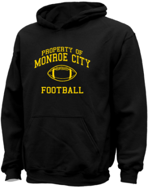 Monroe City High School Kid Hooded Sweatshirts