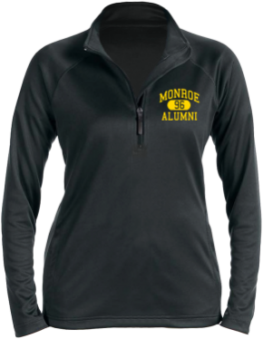Monroe Elementary School Stretch Tech-Shell Compass Quarter Zip