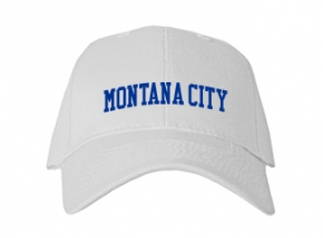 Montana City Elementary School Kid Embroidered Baseball Caps