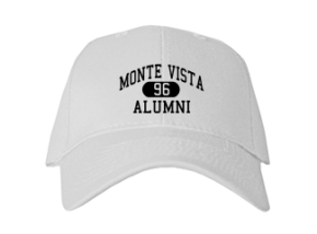 Monte Vista Elementary School Embroidered Baseball Caps