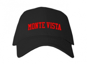 Monte Vista High School Kid Embroidered Baseball Caps