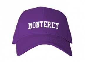 Monterey High School Kid Embroidered Baseball Caps