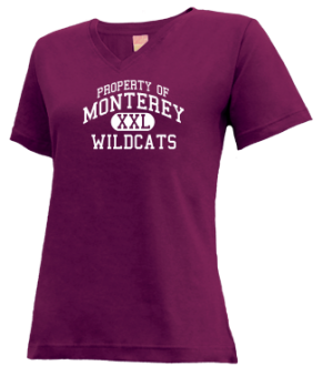 Monterey High School V-neck Shirts