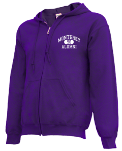 Monterey High School Zip-up Hoodies